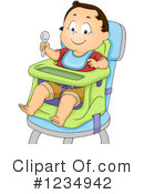Royalty-Free (RF) Baby Boy Clipart Illustration #1234942