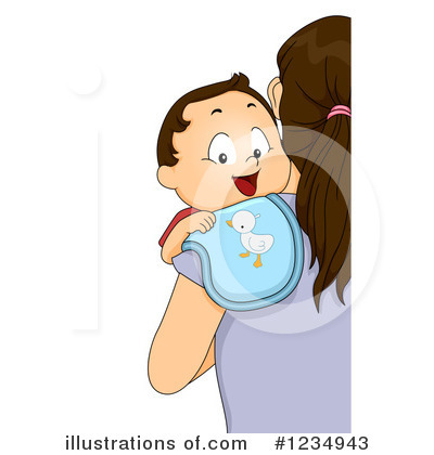 Baby Boy Clipart #1234943 by BNP Design Studio