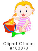 Royalty-Free (RF) baby Clipart Illustration #103879