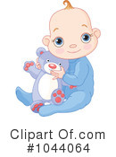 Baby Clipart #1044064 by Pushkin