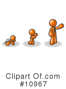 Baby Clipart #10967 by Leo Blanchette