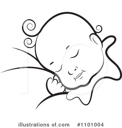 Baby Clipart #1101004 by Lal Perera