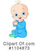 Royalty-Free (RF) Baby Clipart Illustration #1104873