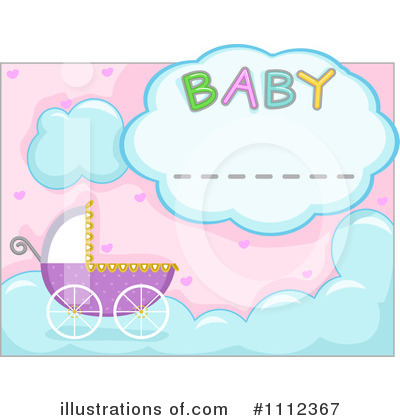 Baby Shower Clipart #1112367 by BNP Design Studio