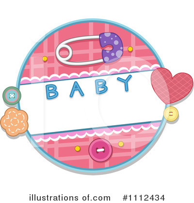 Baby Shower Clipart #1112434 by BNP Design Studio