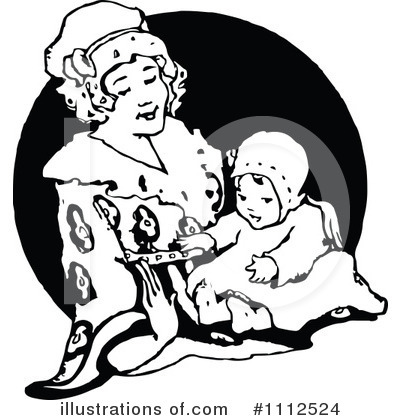 Mother Clipart #1112524 by Prawny Vintage