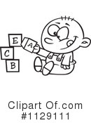 Royalty-Free (RF) Baby Clipart Illustration #1129111