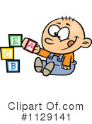 Royalty-Free (RF) Baby Clipart Illustration #1129141