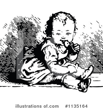 Baby Clipart #1135164 by Prawny Vintage