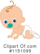 Baby Clipart #1151099 by peachidesigns