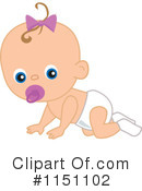 Baby Clipart #1151102 by peachidesigns