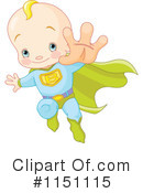 Royalty-Free (RF) baby Clipart Illustration #1151115