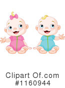 Royalty-Free (RF) Baby Clipart Illustration #1160944