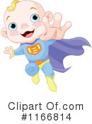 Royalty-Free (RF) Baby Clipart Illustration #1166814
