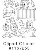 Baby Clipart #1167253 by visekart