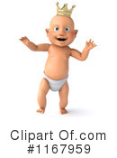 Baby Clipart #1167959 by Julos