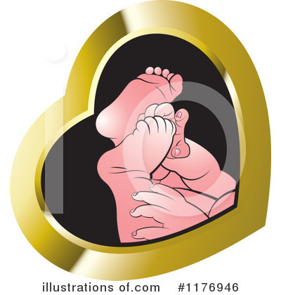 Feet Clipart #1176946 by Lal Perera