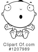 Baby Clipart #1207989 by Cory Thoman