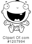 Baby Clipart #1207994 by Cory Thoman