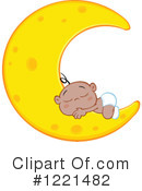 Baby Clipart #1221482 by Hit Toon