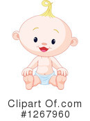 Baby Clipart #1267960 by Pushkin