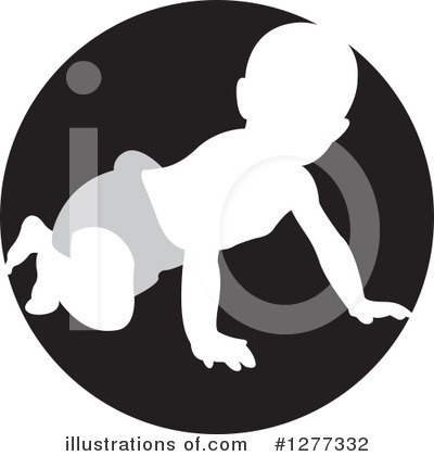 Royalty-Free (RF) Baby Clipart Illustration by Lal Perera - Stock Sample #1277332