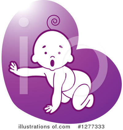Baby Clipart #1277333 by Lal Perera