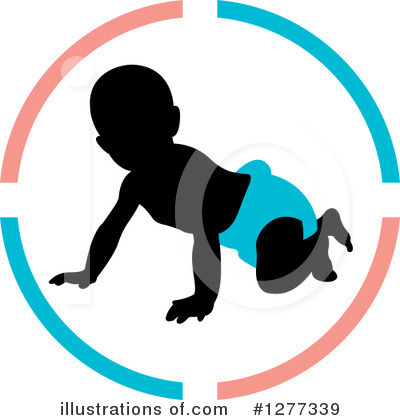 Baby Clipart #1277339 by Lal Perera