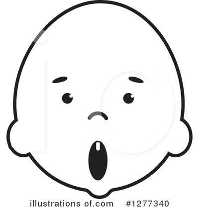 Baby Clipart #1277340 by Lal Perera