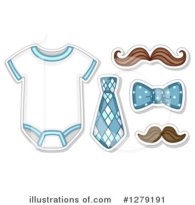 Royalty-Free (RF) Baby Clipart Illustration by BNP Design Studio - Stock Sample #1279191