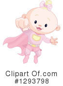 Royalty-Free (RF) Baby Clipart Illustration #1293798