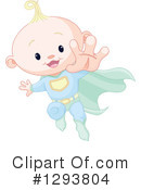Royalty-Free (RF) Baby Clipart Illustration #1293804