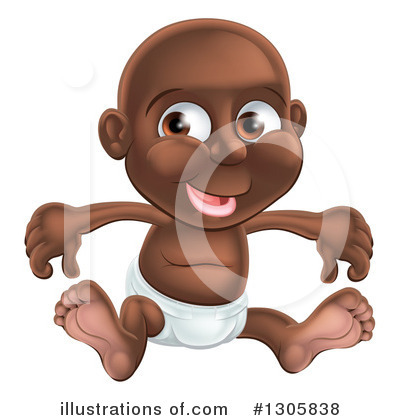 Baby Clipart #1305838 by AtStockIllustration