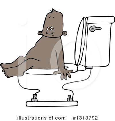 Potty Training Clipart #1313792 by djart