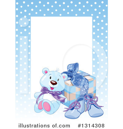 Teddy Bear Clipart #1314308 by Pushkin