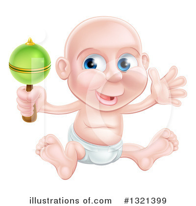 Baby Clipart #1321399 by AtStockIllustration