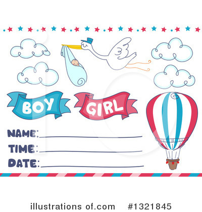 Baby Shower Clipart #1321845 by BNP Design Studio