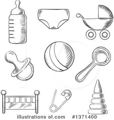 Carriage Clipart #1371400 by Vector Tradition SM