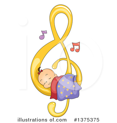 Baby Girl Clipart #1375375 by BNP Design Studio