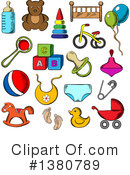 Baby Clipart #1380789 by Vector Tradition SM