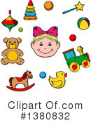Baby Clipart #1380832 by Vector Tradition SM