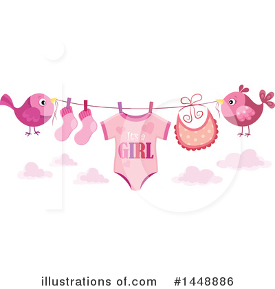 Baby Clipart #1448886 by visekart