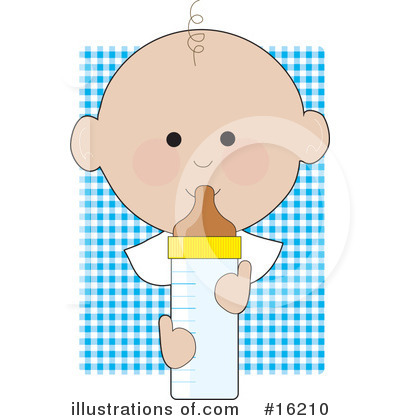 Baby Bottle Clipart #16210 by Maria Bell