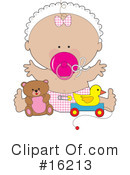 Royalty-Free (RF) Baby Clipart Illustration #16213