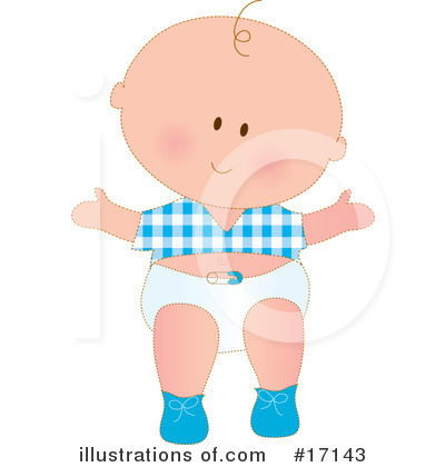 Baby Clipart #17143 by Maria Bell