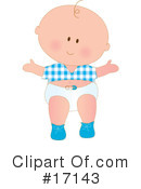 Royalty-Free (RF) Baby Clipart Illustration #17143