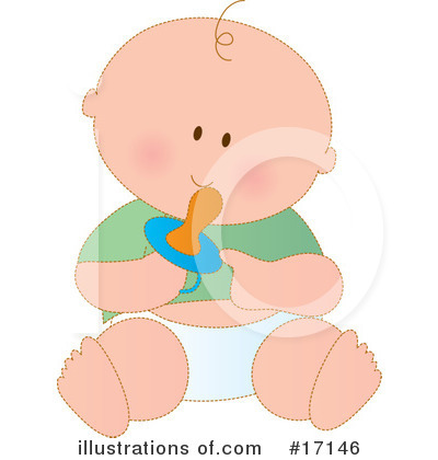 Baby Clipart #17146 by Maria Bell
