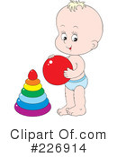 Baby Clipart #226914 by Alex Bannykh