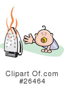 Baby Clipart #26464 by David Rey