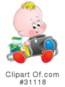 Baby Clipart #31118 by Alex Bannykh